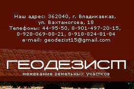 Компания «Геодезист»