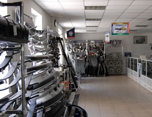торговый зал автозапчастей на автомобили ГАЗ