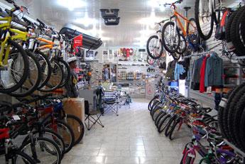 торговый зал магазина Аист Велосипеды Владикавказ