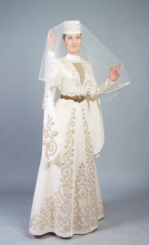 Осетинское свадебное платье и аксессуары - 2 Марта 2015 - Blog